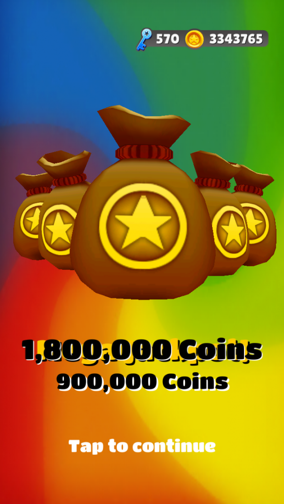 subway surfers jackpot