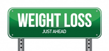weight loss just ahead
